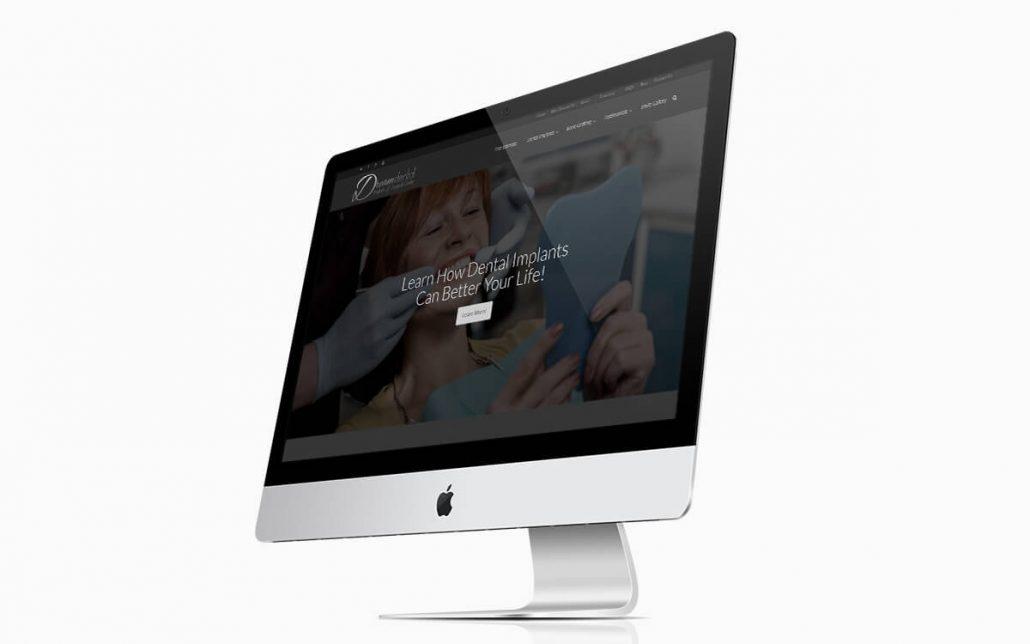 Dream Dental Website iMac