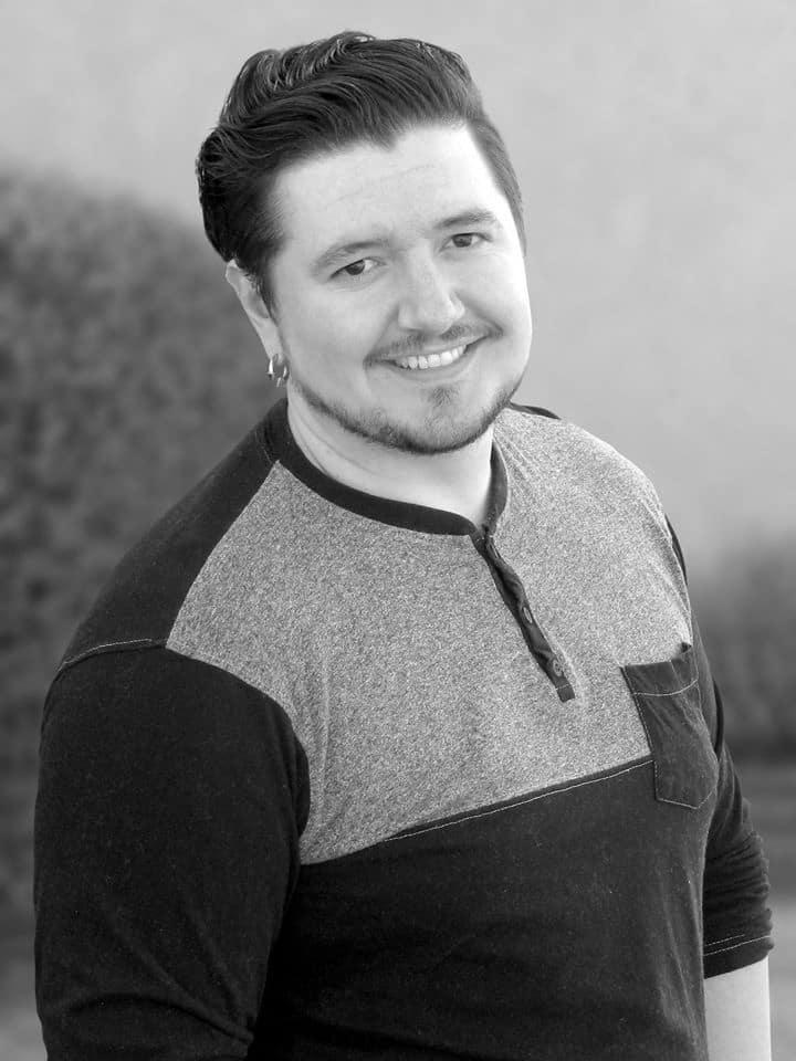 Adam Miconi Graphic Designer Headshot