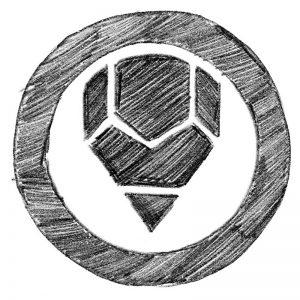 Pencil Logo Design Step One