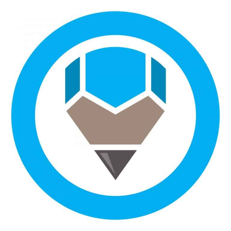 Pencil Logo Design Step Three