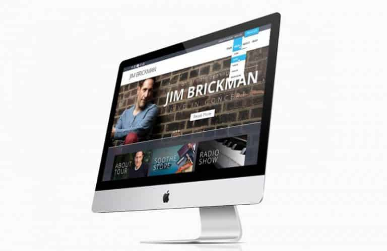 Jim Brickman Web Design
