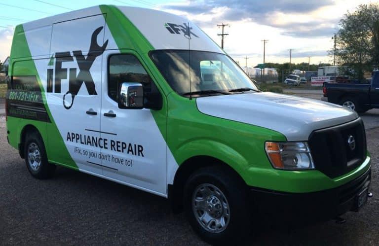 iFiX Truck Wrap Design