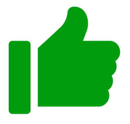 Website Thumbs Up