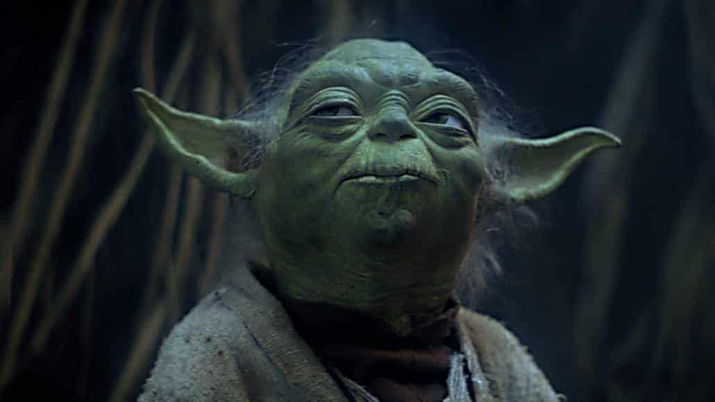 Yoda Looking All Sly. You Cheeky Bastard, You!
