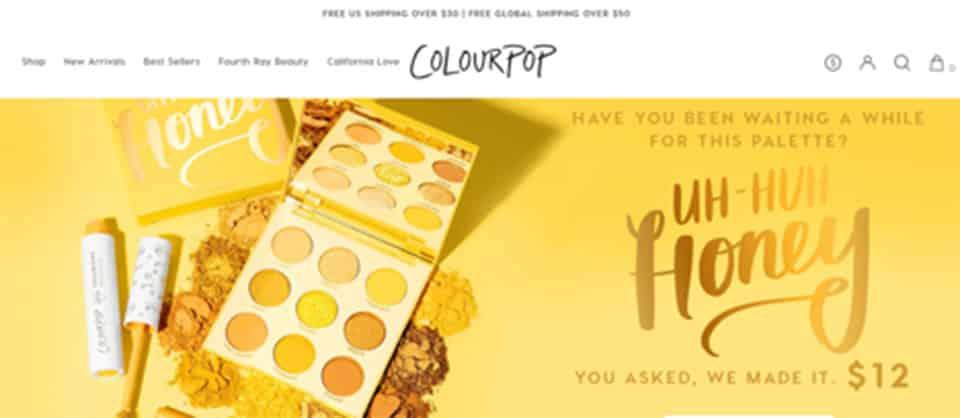 Colour Pop Brand Identity