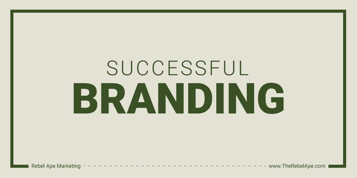 Successful Branding Graphic