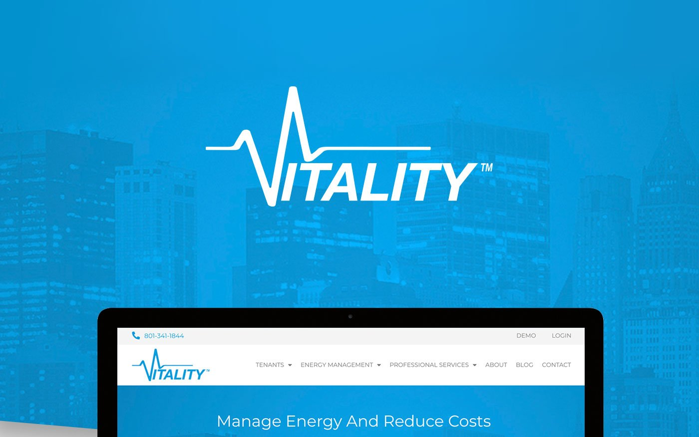 Vitality Energy Website Header