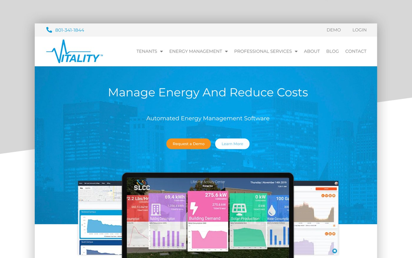 Vitality Energy Website Start