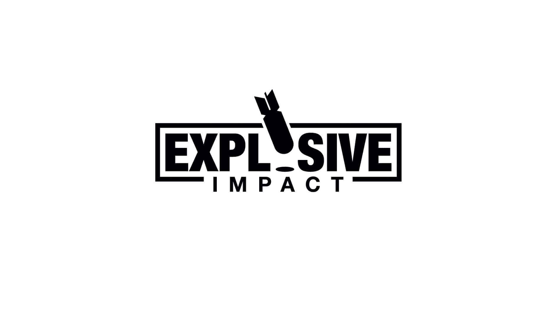 Explosive Impact Logo Black
