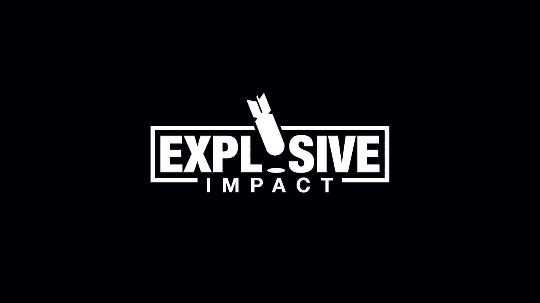 Explosive Impact Logo White